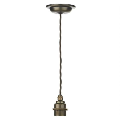 David Hunt Lighting, Duxford Antique Brass Suspension, DUX6575 (Hand made, 7-10 day Delivery)